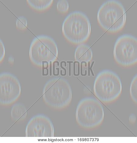 jelly fish seamless pattern design ong grey ghost background, underwater life pattern