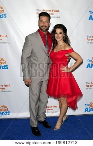 LOS ANGELES - DEC 6:  Renee Marino, Michael Calleja at the The Actors Fund's Looking Ahead Awards  at Taglyan Complex on December 6, 2016 in Los Angeles, CA