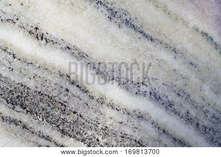 Mineral background. Folded breccia stone macro detail. Geology gemstone. Horizontal
