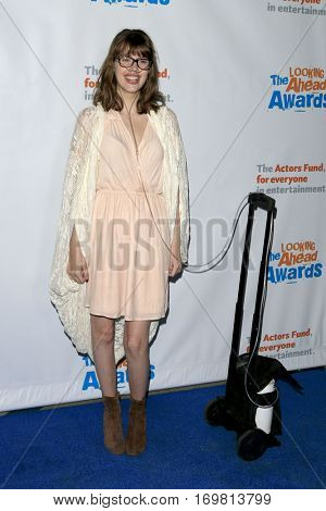 LOS ANGELES - DEC 6:  Claire Wineland at the The Actors Fund's Looking Ahead Awards  at Taglyan Complex on December 6, 2016 in Los Angeles, CA