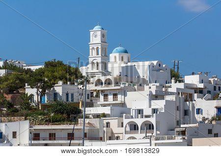 Hauses of Milos island, Greece.