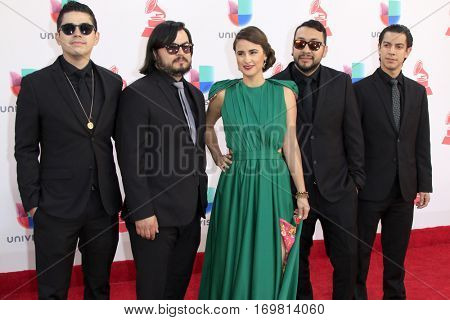 LAS VEGAS - NOV 17:  The Chamanas at the 17th Annual Latin Grammy Awards at T-Mobile Arena on November 17, 2016 in Las Vegas, NV
