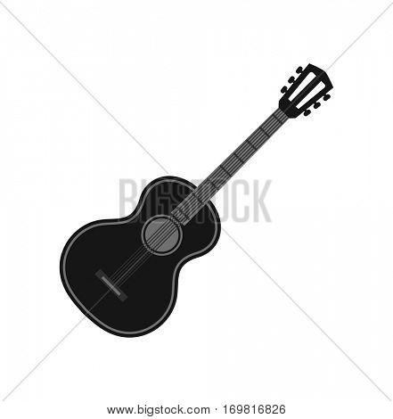guitar black icon