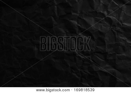 Damaged Black Paper Texture