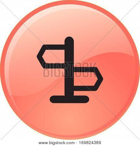 icon signpost