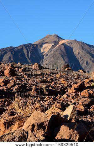 El Teide National Park Tenerife
