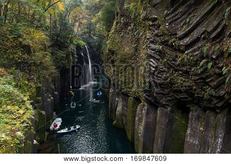 Takachiho Gorge of Japan
