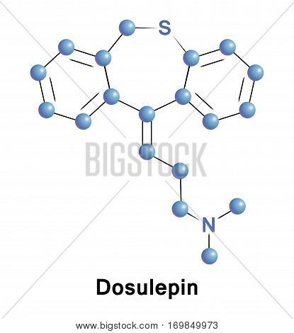 Dosulepin is used for the treatment of major depressive disorder and neuropathic pain.  There is evidence of the efficacy of dosulepin in psychogenic facial pain