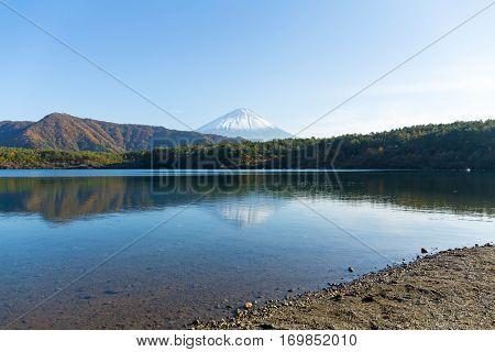 Fujisan in Saiko Lake