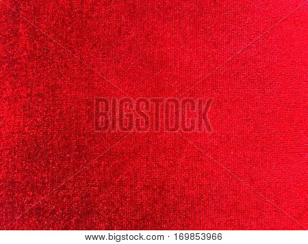 Red colored velvet textile background. Red colored velvet textile background.