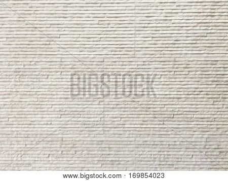 Abstract white corrugated cardboard texture for background