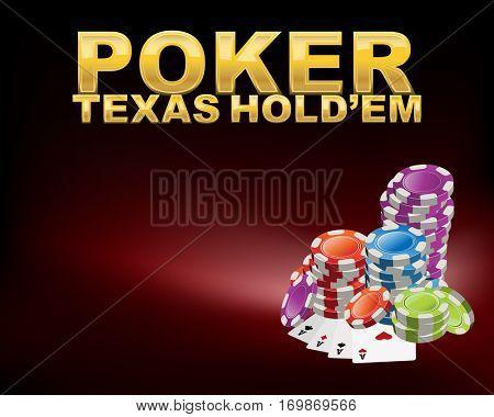 poker Texas holdem table