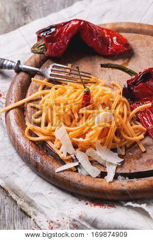 Orange Tomato Spaghetti