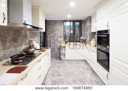 decoration and design of modern kitchen