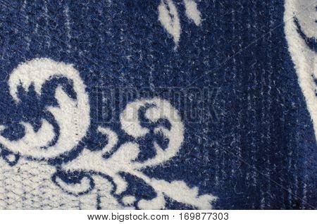 Persian carpet surface navy  luxury, mat, new