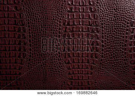dark leather texture background close up macro.
