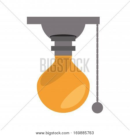 portable bulbs related icon, vector illustration image