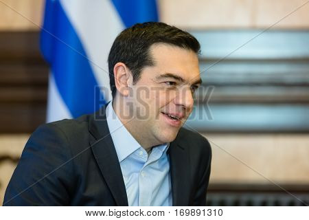 Prime Minister Of Greece Alexis Tsipras