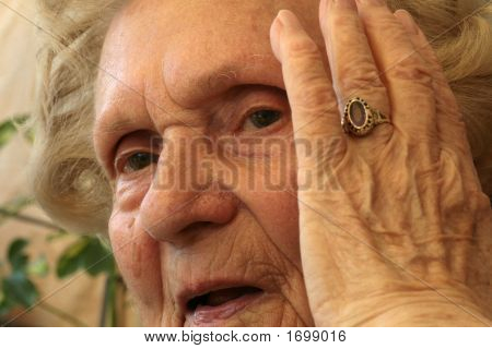 Stunned Grandmother