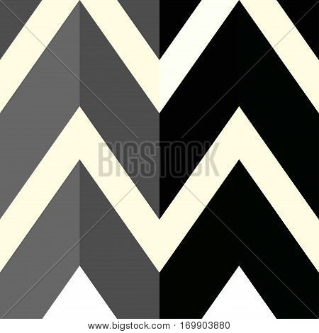 The pattern with gray and black lines. Vector illustration