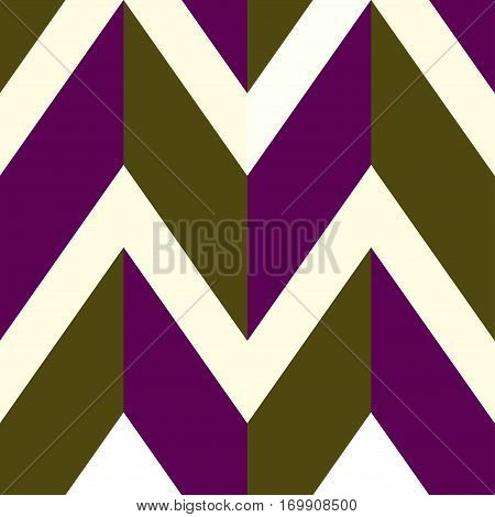 Pattern with white brown purple lines. Vector illustration