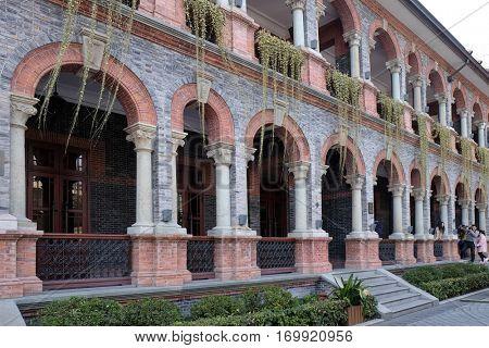 SHANGHAI - FEBRUARY 27: Hotel Massenet At Sinan Mansions at 51 Sinan Road (Sinan Lu) , Huangpu District in Shanghai, China, February 27, 2016.
