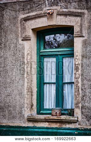 An Old Window In Gouin