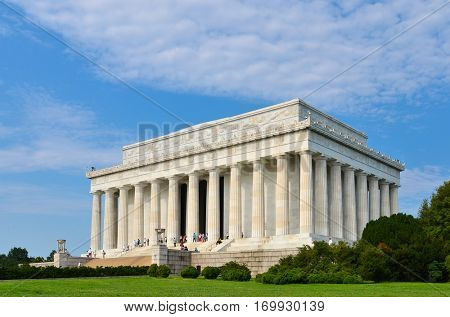 Lincoln Memorial - Washington DC United States