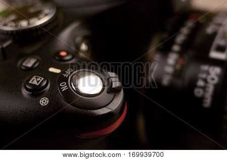 Details Of Modern Digital Slr Photocamera