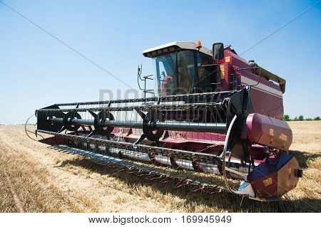 Combine Harvesters Ready For Harvest