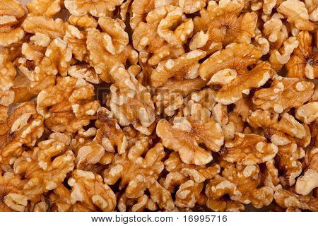 Walnut Seeds Background