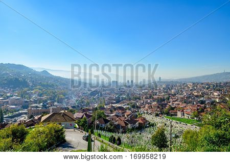 Sarajevo - Bosnia and Herzegovina, capital and largest city of Bosnia and Herzegovina
