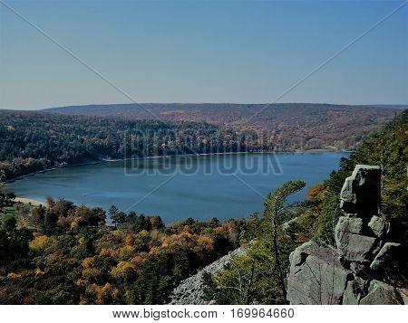 Devil's Lake State Park Baraboo Wisconsin USA