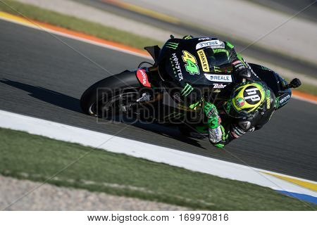 VALENCIA, SPAIN - NOV 11: Pol Espargaro during Motogp Grand Prix of the Comunidad Valencia on November 11, 2016 in Valencia, Spain.