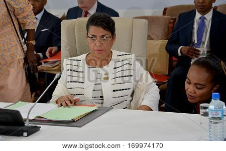 Antananarivo, Madagascar. November 23Rd 2016: Madagascar Foreign Minister Beatrice Atallah At The Su