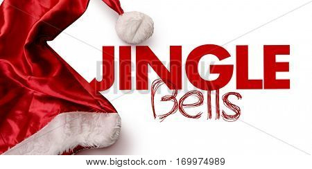 Jingle Bells on white background