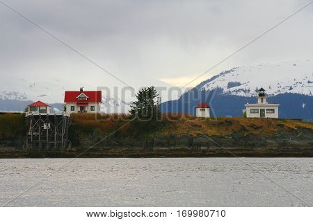 Juneau Alaska seaside solitude in stark relief