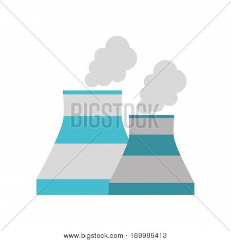nuclear power plant enrgy icon vector illustration eps 10