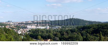 Photo of the city Brno located in the Czech Republic