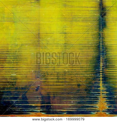 Colorful grunge background, tinted vintage style texture. With different color patterns: yellow (beige); brown; green; gray; blue