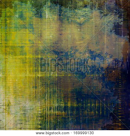 Retro style grunge background, mottled vintage texture. With different color patterns: yellow (beige); brown; purple (violet); green; blue