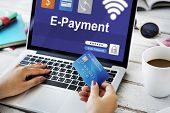 Online Purchasing Payment E-commerce Banking poster