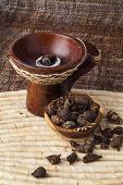 Gowe - Thiouraye (Cyperus articulatus) - african (Senegal) incense poster