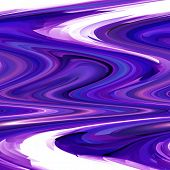 Abstract coloring background of the deep sea gradient with visual pinch,twirl,lighting,cubism and shear effects poster