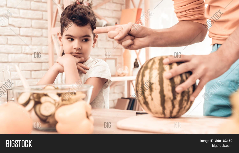Happy Arabian Family Image Photo Free Trial Bigstock