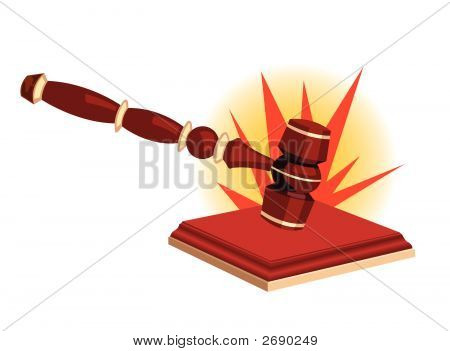 Bang Of A Gavel