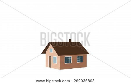 Small House, Shack, Hut, Cabin, Shack, Shanty, Cot, Cottage, Snow Capped, Window, Chimney Smoke.