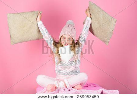 Child Long Hair Warm Woolen Hat Enjoy Warm. Warm Accessories That Will Keep You Cozy This Winter. Ki