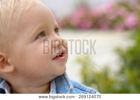 Helping Children At The Early Stages Of Their Growth. Emotional And Physical Growth. Baby Boy. Small