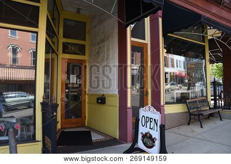 Antiques Store Exterior, Filming Location For Shawshank Redemption, Mansfield, Oh, May 29, 2018